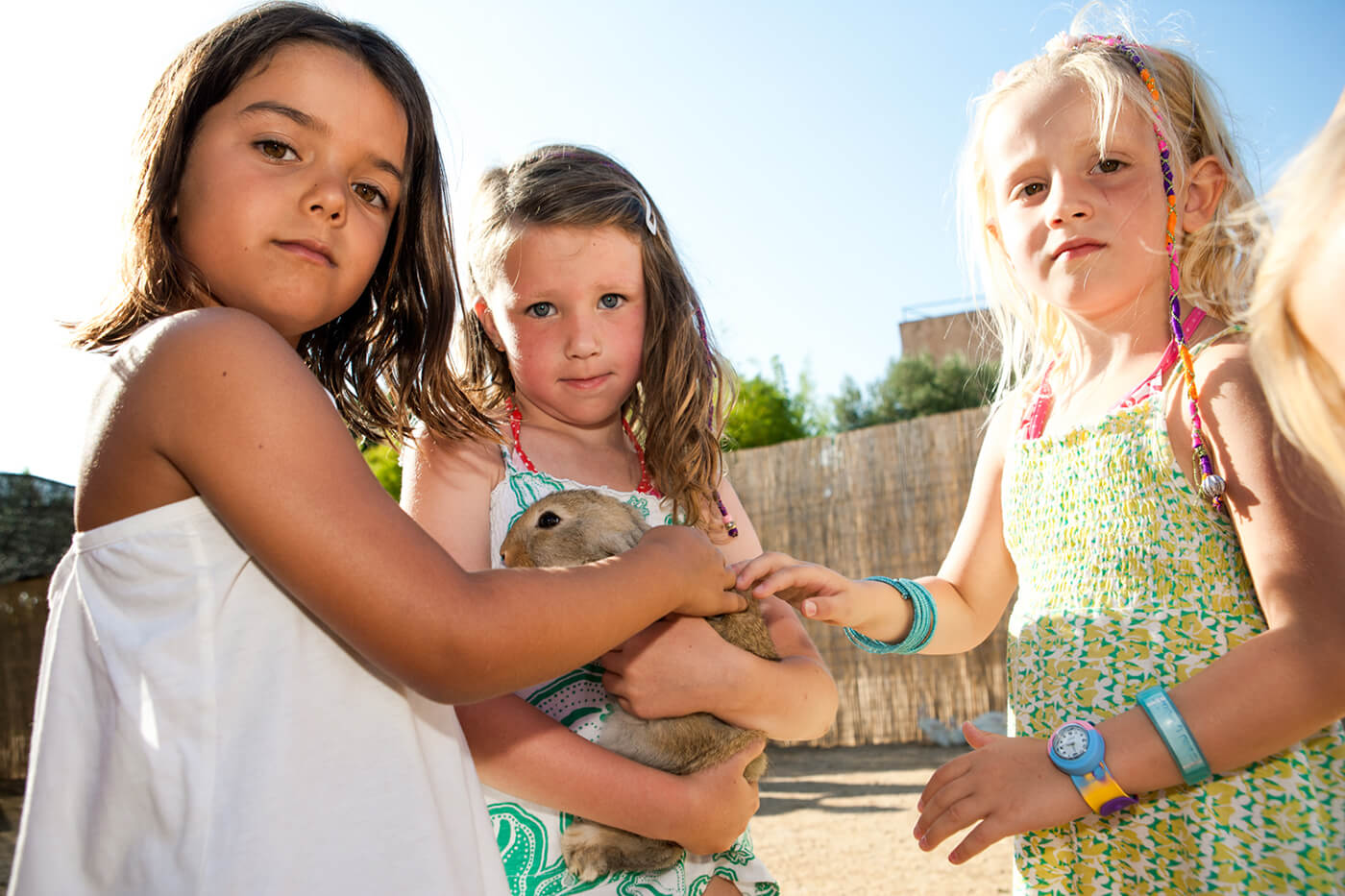 Campsite Costa Brava with activities and animals for children