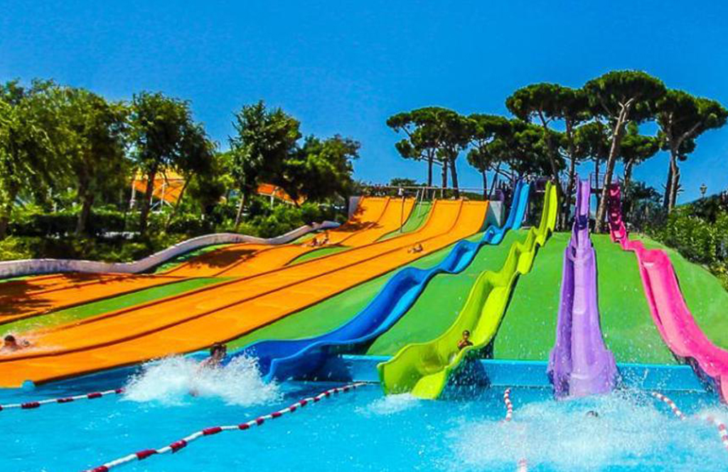 Water parks in Blanes. Sightseeing from our Camping El Pinar for an unforgettable holiday