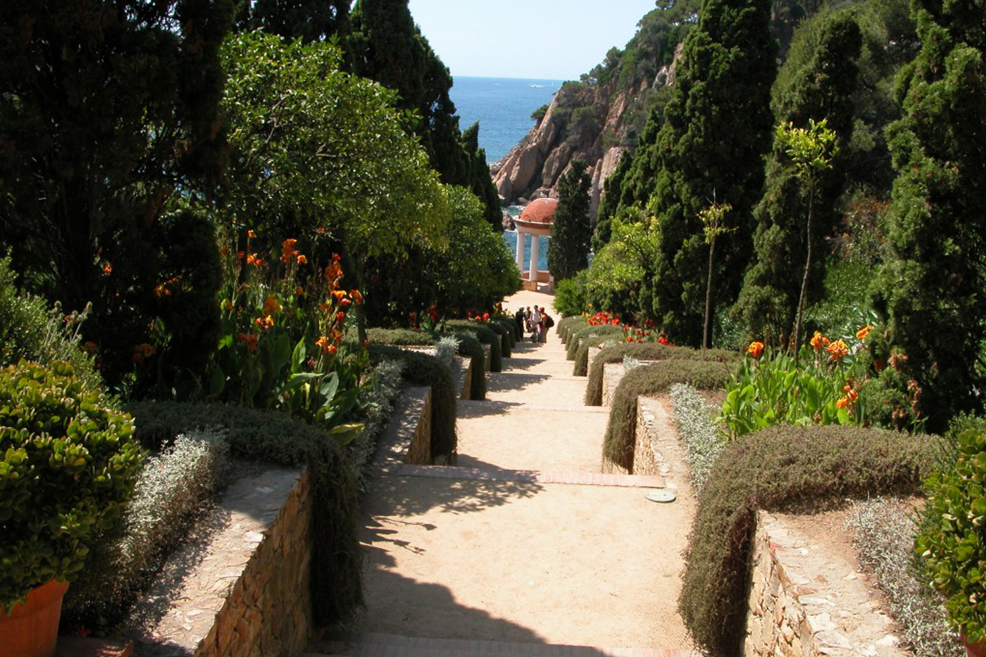 The best places to visit in Blanes. Gardens, terraces and outdoor locations from our campsite